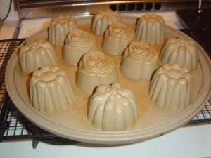 Silicone Floral Cupcake Pan