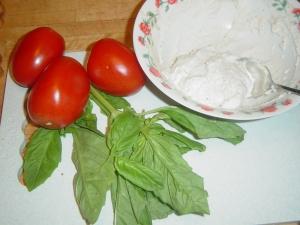 Tomato Ricotta Basil