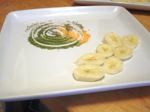 Plating Bananas and Powders