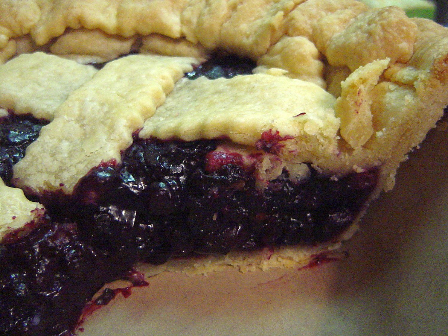 Birthday Pie…of the blueberry variety | Gather Around The ...