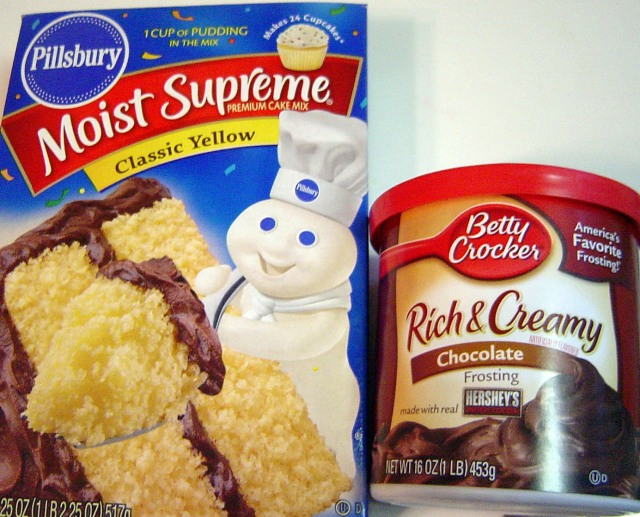 Box Cake Mix Never Come Out