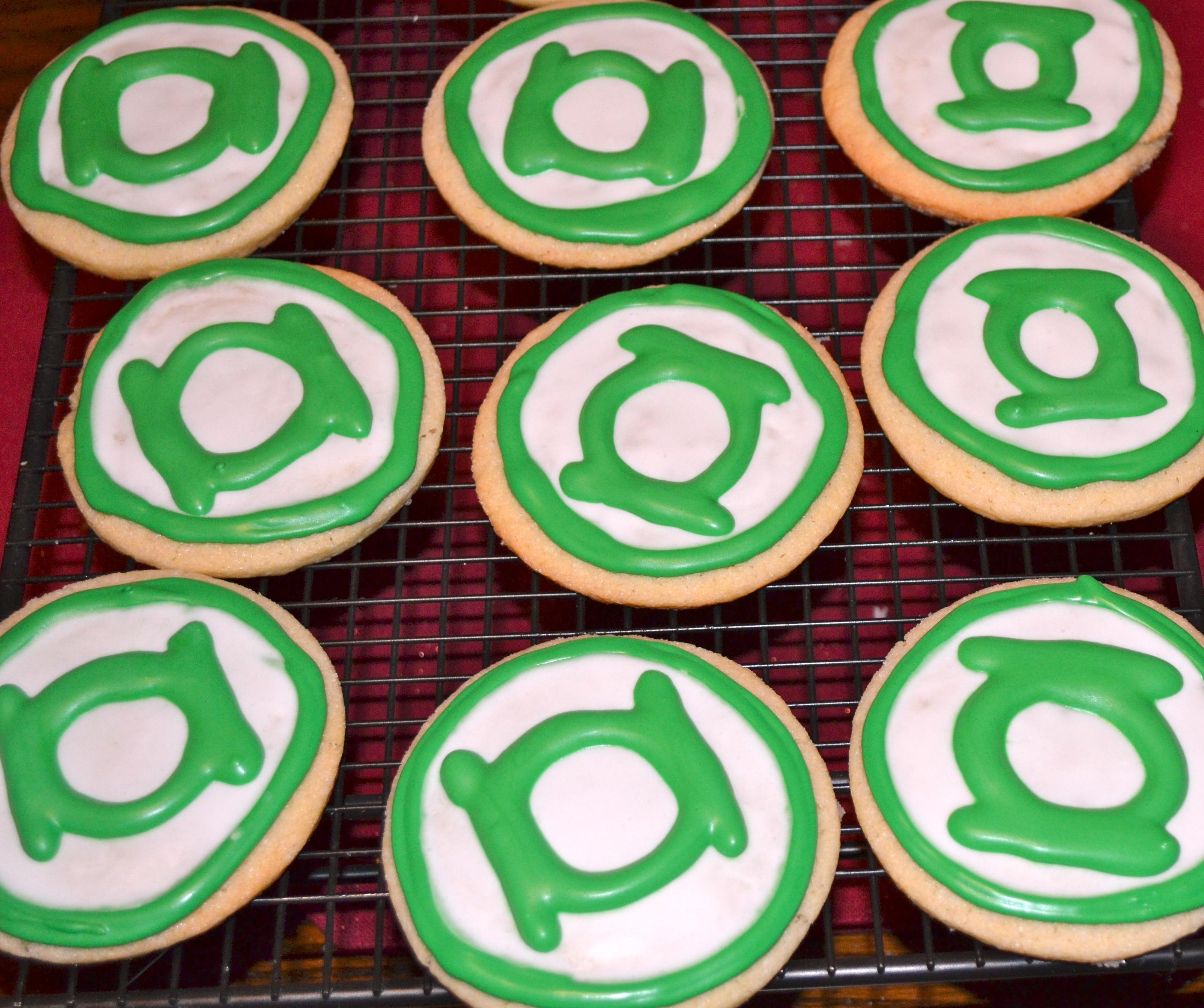 Green Lantern Gather Around The Table