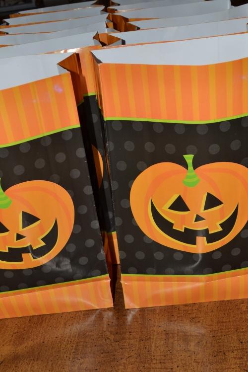 Halloween snack bags